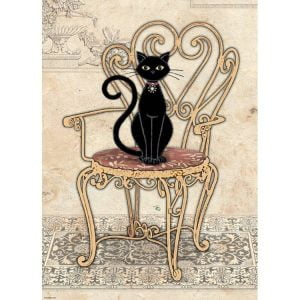 Chair Cats 1000 PC Jigsaw Puzzle