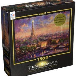 City of Paris Thomas Kinkade 750 PC Jigsaw Puzzle