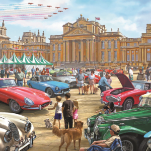 Classic Car Show 1000 PC Jigsaw Puzzle