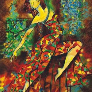 Dancing with Colours 500 PC Jigsaw Puzzle
