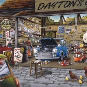 Draytons Garage 500 PC Jigsaw Puzzle