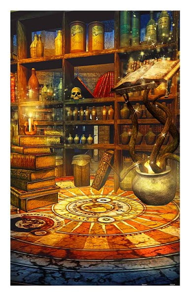 Fantasy Magic Room 1000 PC Jigsaw Puzzle