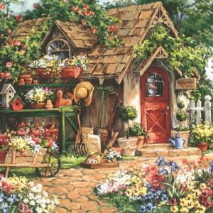 Gardeners Haven 500 PC Jigsaw Puzzle