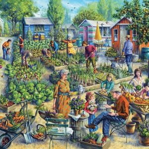 Green Street Gardens 1000 PC Jigsaw Puzzle