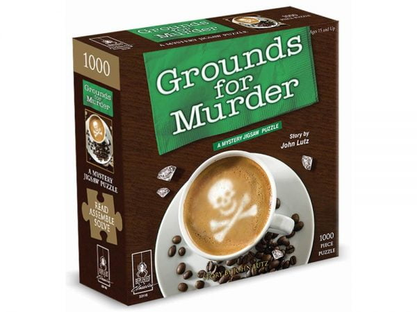 Grounds for Murder 1000 Piece Puzzle