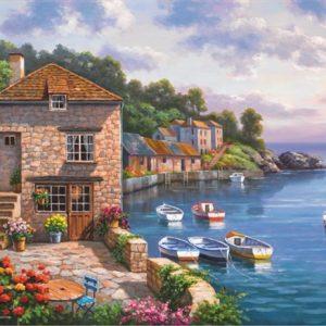 Harbour Garden 1000 PC Jigsaw Puzzle