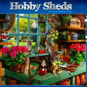 Hobby Sheds Granpas Potting Shed 500 XXL PC Jigsaw Puzzle