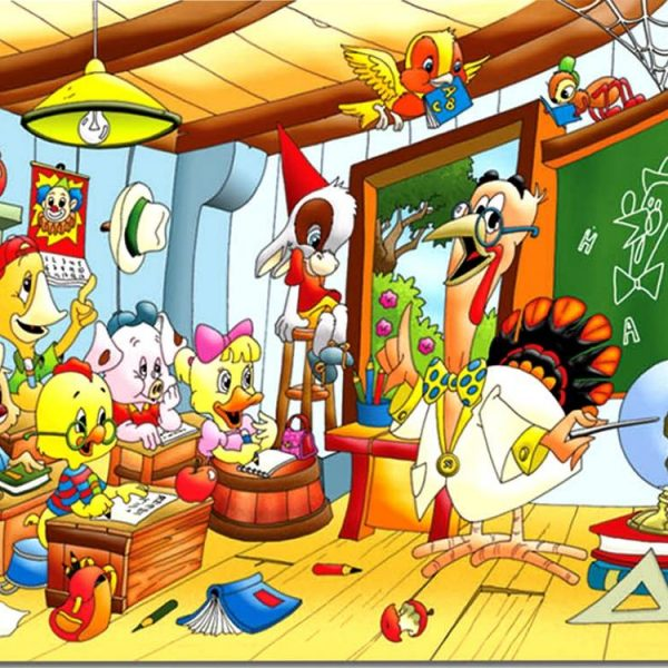 In the Classroom 24 PC Jigsaw Puzzle