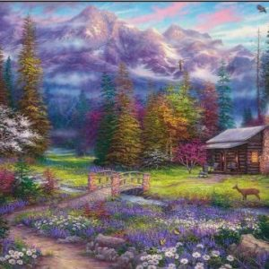 Inspiration of Spring Meadows 1000 PC Jigsaw Puzzle