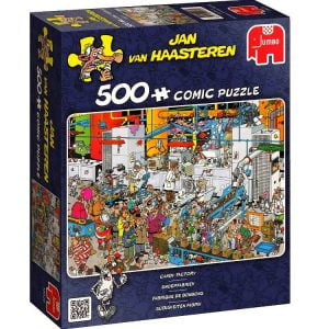 JVH Candy Factory 500 PC Jigsaw Puzzle