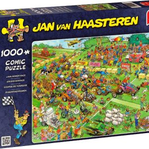 JVH Lawnmower Race 1000 PC Jigsaw Puzzle