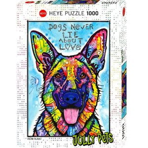 Jolly Pets Dogs Never Lie 1000 PC Jigsaw Puzzle
