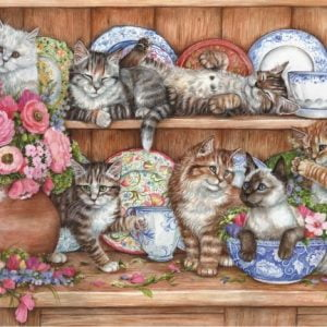 Kittens 1000 PC Jigsaw Puzzle