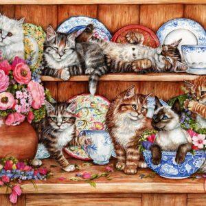 Kittens 1000 Piece Jigsaw Puzzle - Anatolian