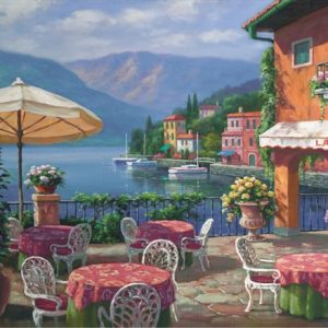Lago Cafe 1000 PC Jigsaw Puzzle