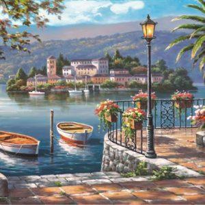Lago Del Porto 1000 PC Jigsaw Puzzle