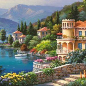Lakeside Villa 2000 PC Jigsaw Puzzle