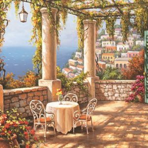 Morning Terrace 260 Piece Jigsaw Puzzle