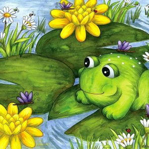Mr Frog 100 PC Jigsaw Puzzle