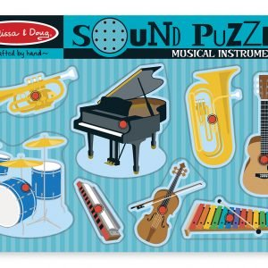Musical Instruments 8 PC sound Jigsaw Puzzle