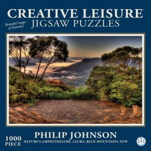 Nature's Amphitheatre Leura 1000 PC Jigsaw Puzzle