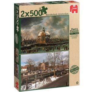 Noorderkerk Amsterdam 2 x 500 Jigsaw Puzzle