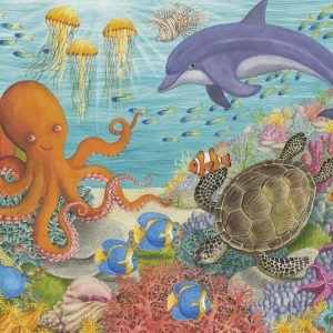 Ocean Friends 35 PC Jigsaw Puzzle