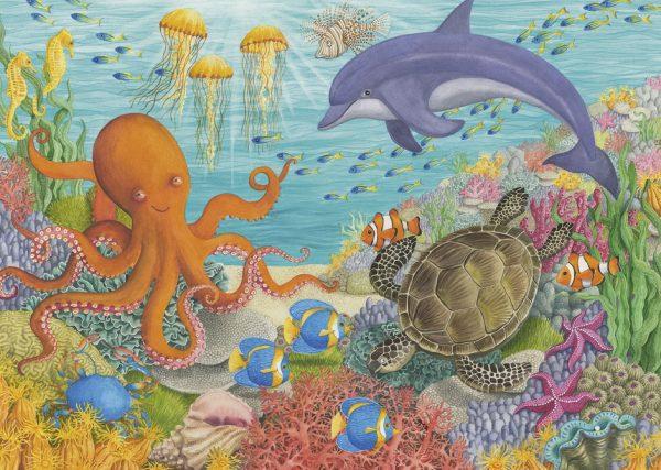Ocean Friends 35 PC Jigsaw Puzzle