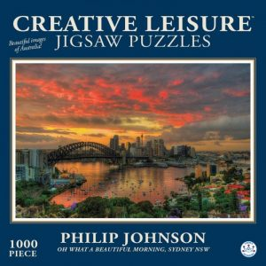 Oh What a Beautiful Morning Sydney nsw 1000 PC Jigsaw Puzzle
