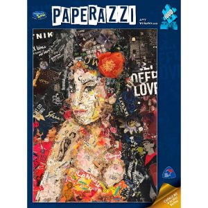 Paperazzi Amy Winehouse 1000 PC Jigsaw Puzzle