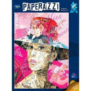 Paperazzi Audrey Hepburn 1000 PC Jigsaw Puzzle