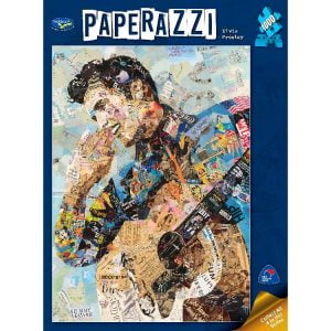 Paperazzi Elvis Presley 1000 PC Jigsaw Puzzle