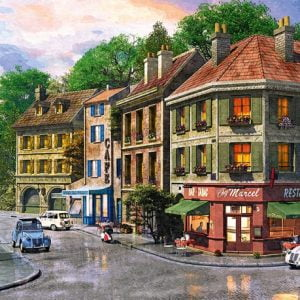 Paris Streets 1000 PC Jigsaw Puzzle