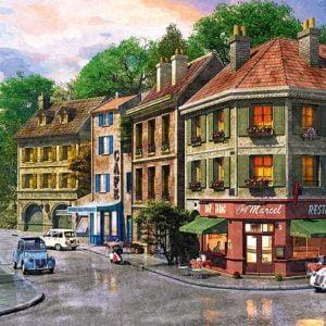 Paris Streets 1000 PC Jigsaw Puzzle