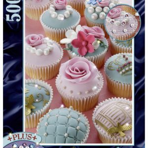 Pearl Cupcakes Brilliant Jewel 500 PC Jigsaw Puzzle