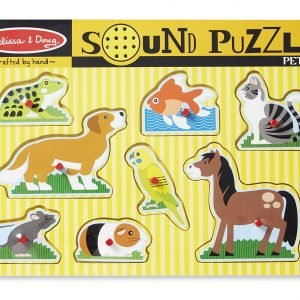 Pets Sound 8 PC Jigsaw Puzzle
