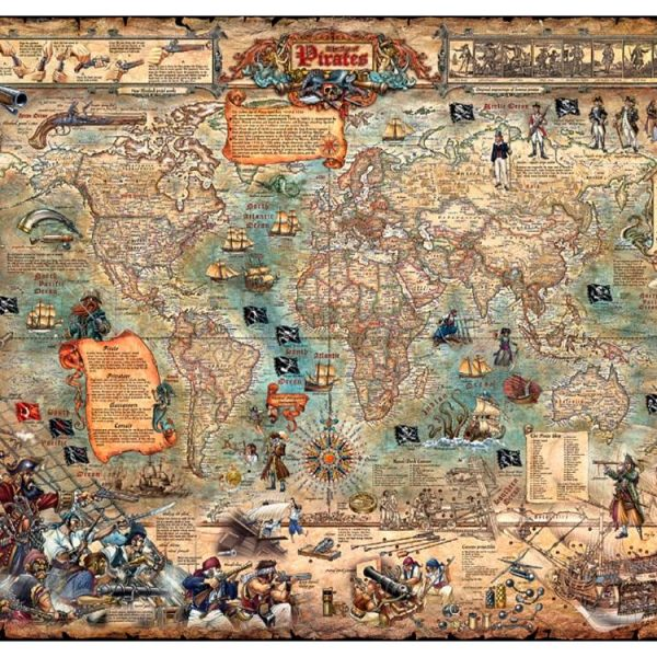 Pirate world 3000 piece heye jigsaw puzzle puzzle palace pirate world 3000 pc jigsaw puzzle gumiabroncs Image collections