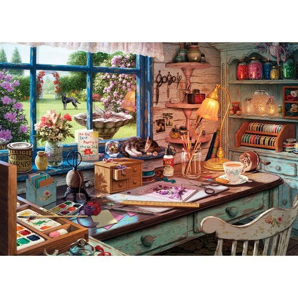 Hobby Sheds Grandmas Craft Shed 500 XXL PC Jigsaw Puzzle