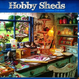 Hobby Sheds Grandmas Craft Shed 500 XXL PC Jigsaw Puzzle