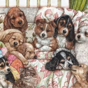 Puppies 1000 PC Jigsaw Puzzle