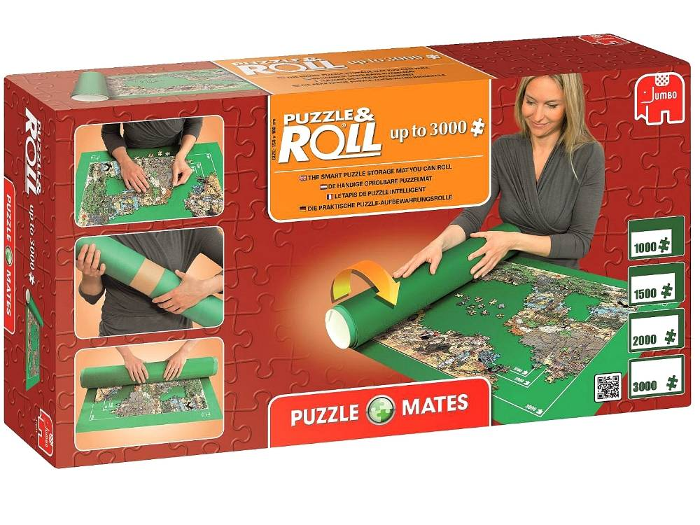 puzzle mate roll up to 3000 pieces puzzle palace australia