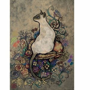 Siamese Cats 1000 PC Jigsaw Puzzle