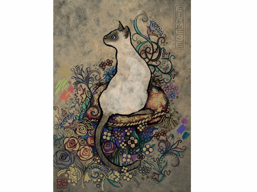 Box Shaped Cars >> Siamese Cats 1000 Piece Heye Jigsaw Puzzle