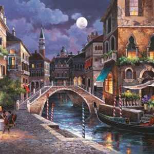 Streets of Venice II 1000 PC Jigsaw Puzzle