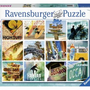Surfers Collage 1000 PC Jigsaw Puzzle