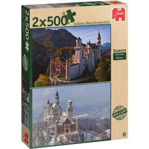 Then & Now Seasons 2 x 500 PC Jigsaw Puzzle