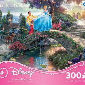 Thomas Kinkade Disney Cinderella 300 PC Jigsaw Puzzle