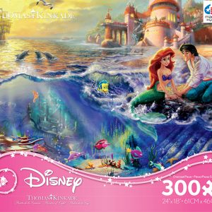 Thomas Kinkade Disney The little Mermaid 300 PC Jigsaw Puzzle