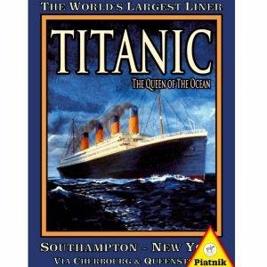 Titanic 1000 PC Jigsaw Puzzle