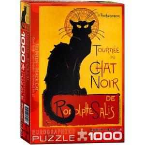 Tournee Du Chat Noir 1000 PC Jigsaw Puzzle